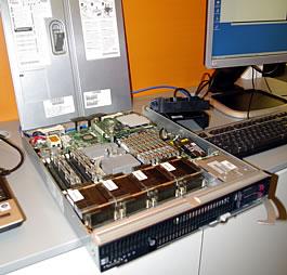 Les lames d'HP accueillent Solaris, l'Unix de Sun