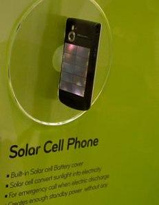Eco-conception et chargement solaire pour les futurs mobiles LG